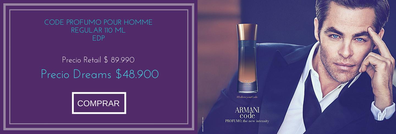 PERFUME CODE PROFUMO POUR HOMME - REGULAR - 110 ML - EDP $49.900
